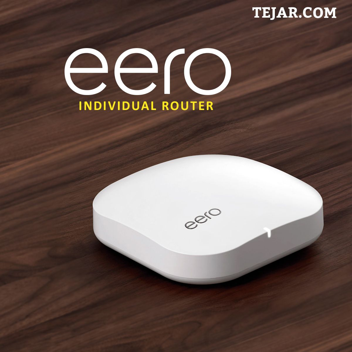 With Two Ethernet Ports Eero Is Perfect For Media Rooms Or Anywhere You Have Ethernet Wiring Tejar Eero Uae Dubai Ethernet Wiring Router Individuality