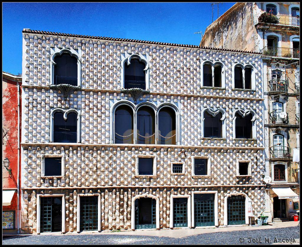 Lisboa (Portugal). Casa dos Bicos Casas, Lisboa portugal