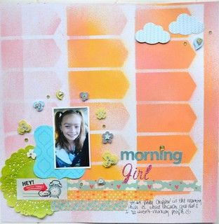 Morning Girl by cmarieray at Studio Calico