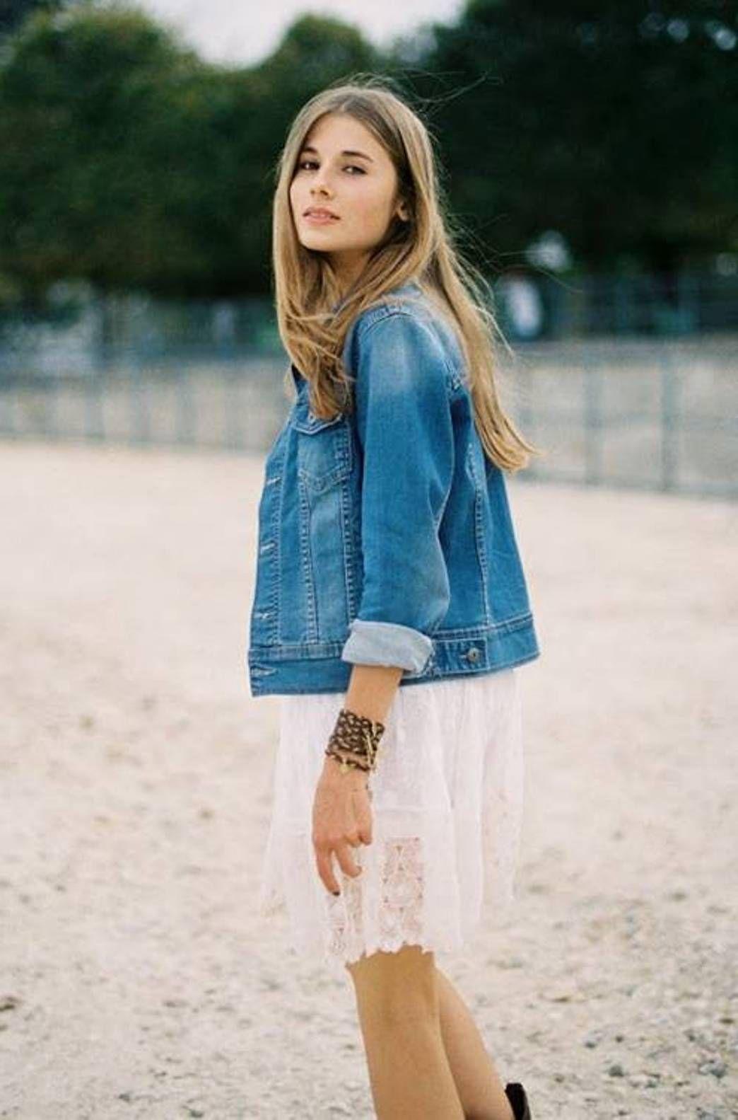 cute denim jacket for women | FASHION | Pinterest | Denim jackets ...