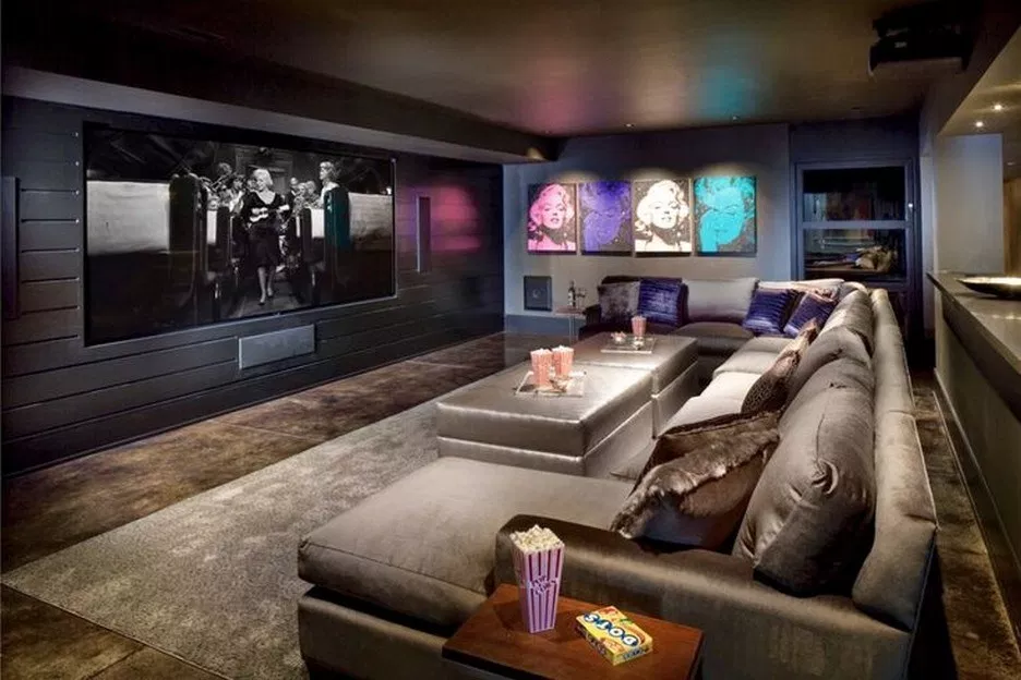 55 Awesome Home Theater Design Ideas 35 Aacmm Com Home Theater Decor Luxury Living Room Decor Home Cinema Room