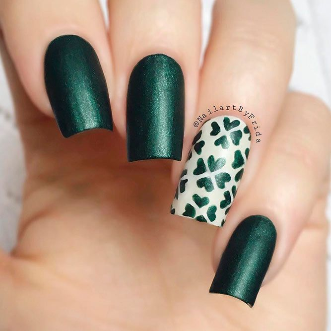 35+ Lucky Nails Designs For St. Patrick\'s Day | Nail designs ...