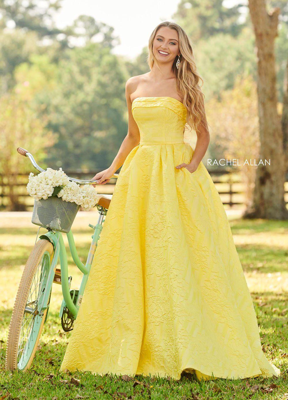 Rachel Allan 7013 Dress In 2021 Prom Dresses Yellow Rachel Allan Dresses Ball Gown Dresses [ 1391 x 1000 Pixel ]