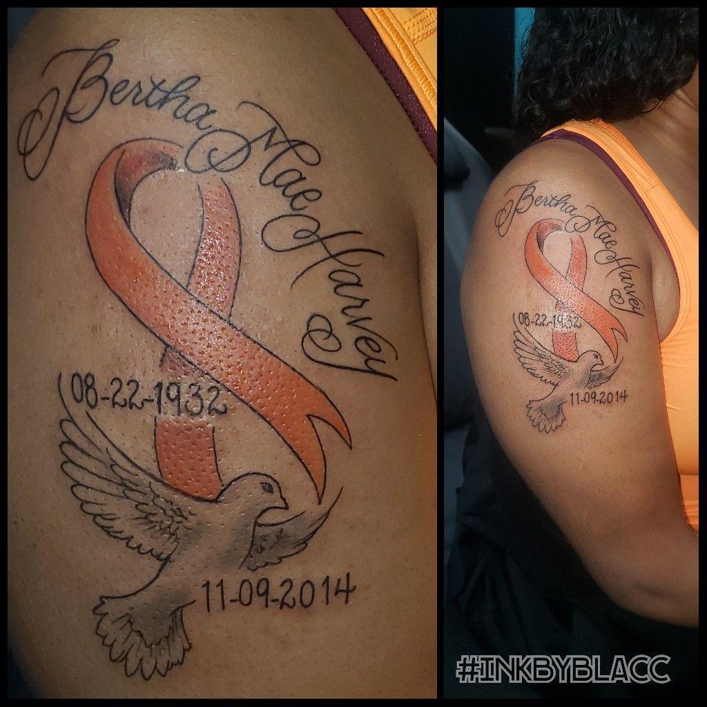 Awareness ribbon tattoos for guys inked men tattoos