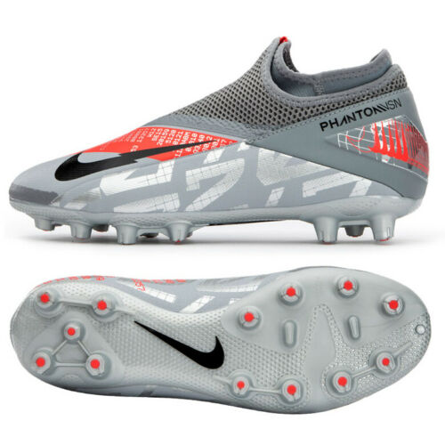 Nike Phantom Vsn 2 Academy Df Hg Football Shoes Soccer Cleats Silver Cd4157 906 In 2020 Soccer Cleats Football Shoes Soccer Cleats Nike