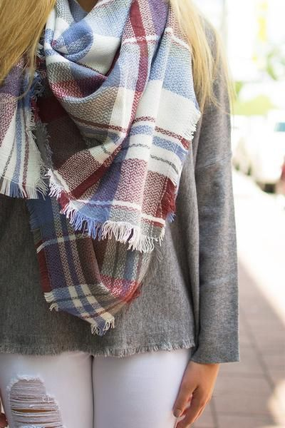 Blanket scarfs are back and better than ever! These ...