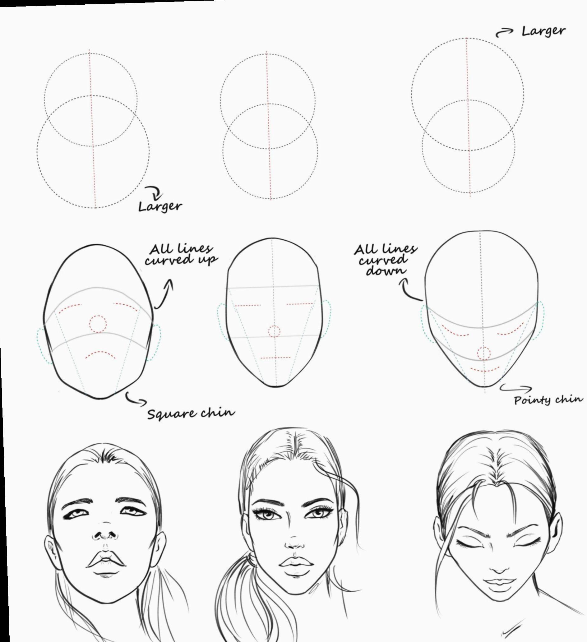 Anime Face Structure Sketch Bakugoukatsuki Bakugou Bnha In 2020 Drawing Tutorial Face Fashion Drawing Tutorial Fashion Drawing