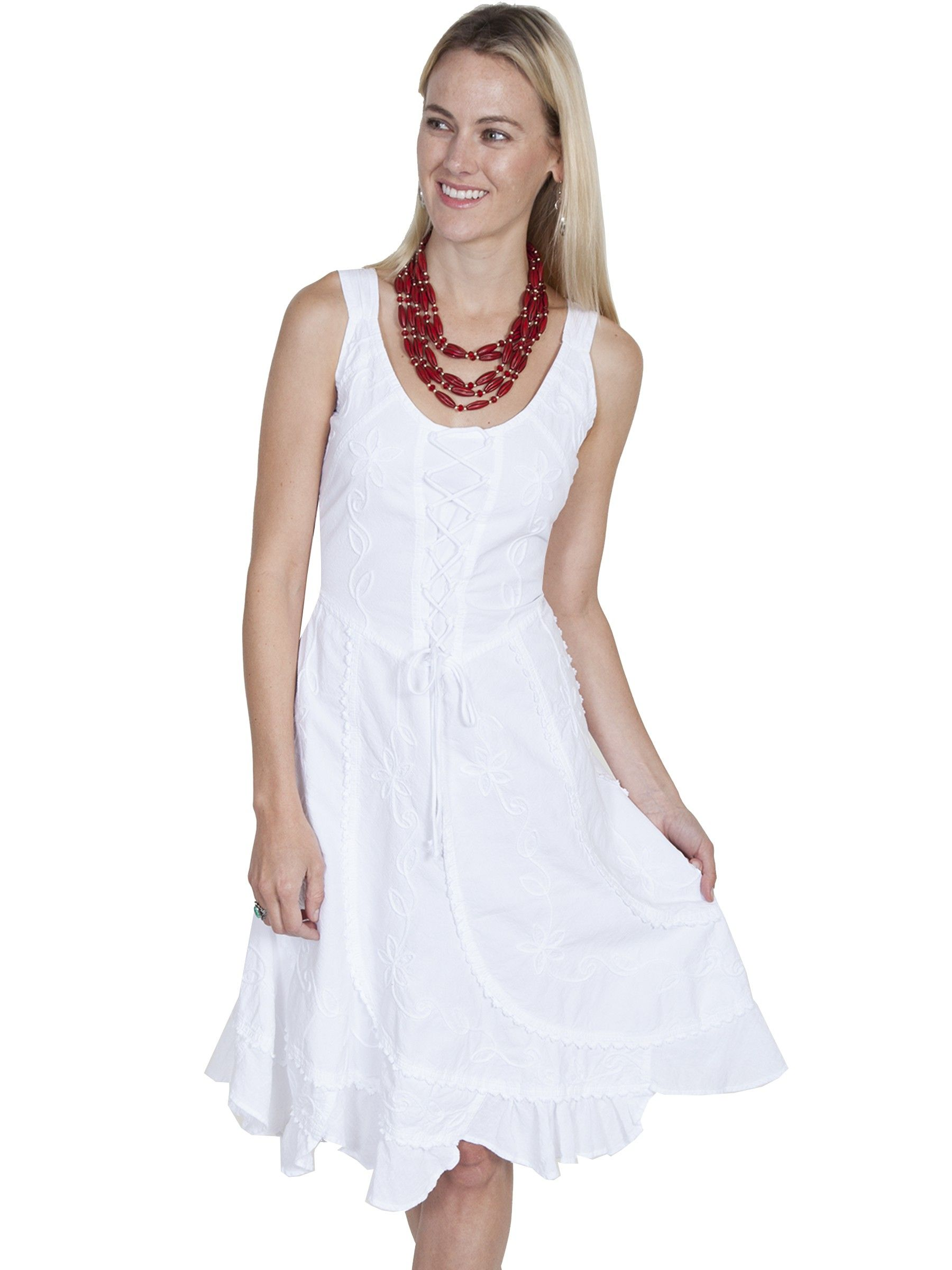 Western Romance Saloon Dress In White Sold Out Western Dresses For Women Western Dresses Dresses [ 2400 x 1800 Pixel ]