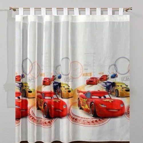 Disney Cars Vorhänge für das Kinderzimmer | Gardine Autozimmer ...