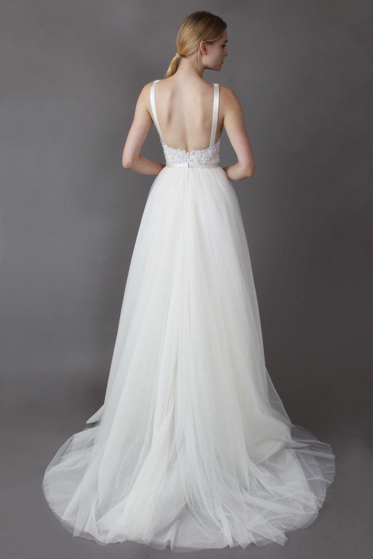 Green and white wedding dress  LYLA dress  White wedding dress  Pinterest  White wedding dresses