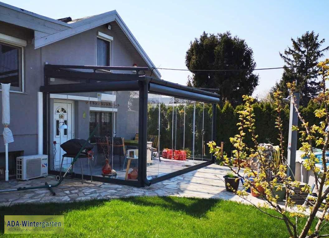 Aluminium teraszfedés/ Aluminium Terrassenüberdachung