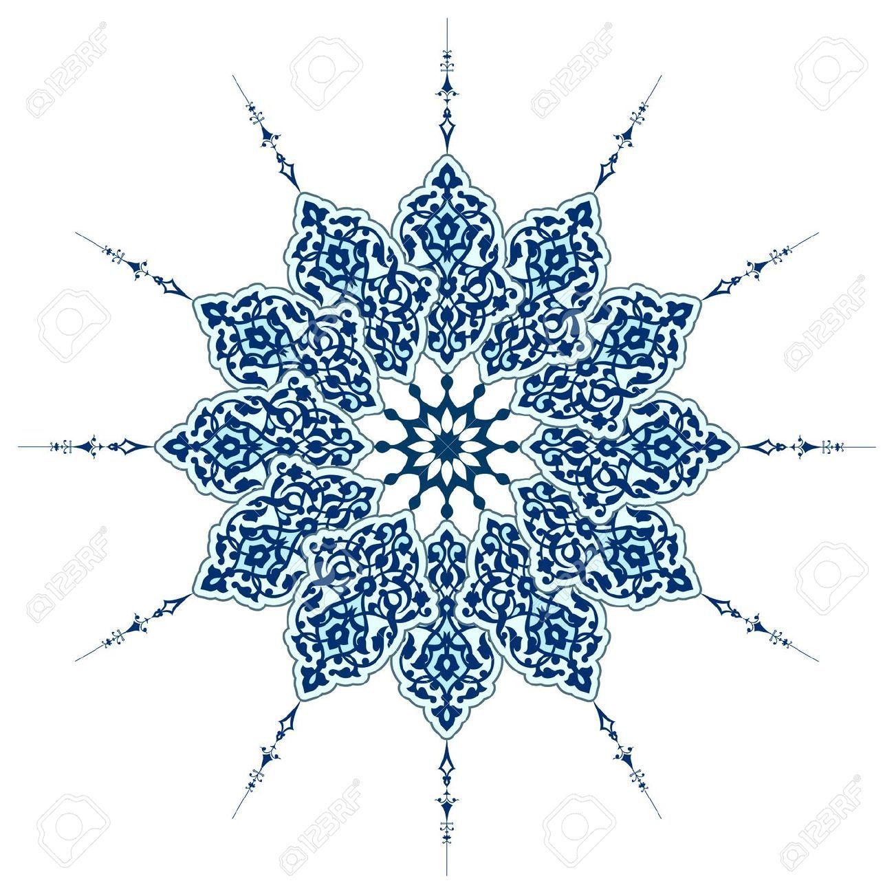 Tattoos arabesque tattoos arabeske tattoos arabesk tattoos - Vector Of Traditional Persian Arabic Turkish Islamic Pattern Royalty Free Cliparts Vectors Tattoo