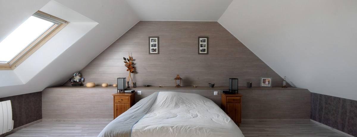 Une chambre spacieuse sous les combles   Chambre RETRO   Pinterest ...