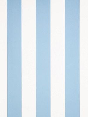 DecoratorsBest - Detail1 - Stroheim 6021001 - 1078E MARWICK STRIPE - S0510 Sky Blue - Wallpaper - DecoratorsBest