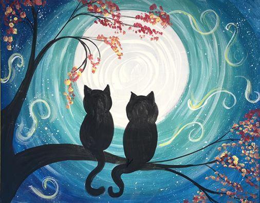 Kawaii black cat drawing lesson, step by step, halloween, seasonal.