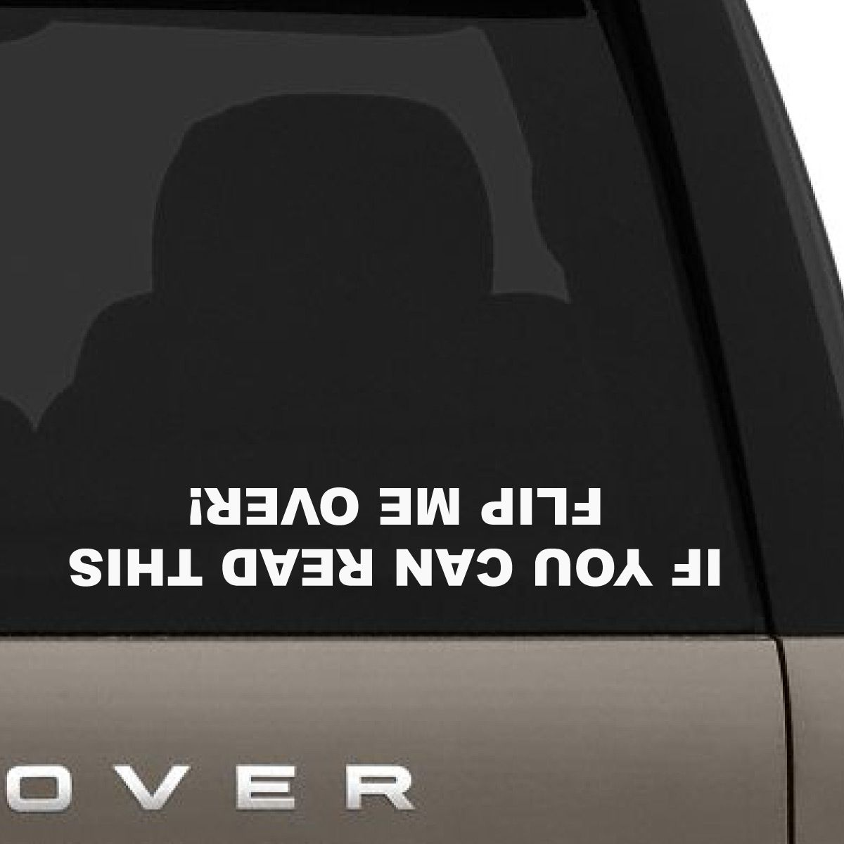 Flip Me Over Car Decal (With images) Car decals
