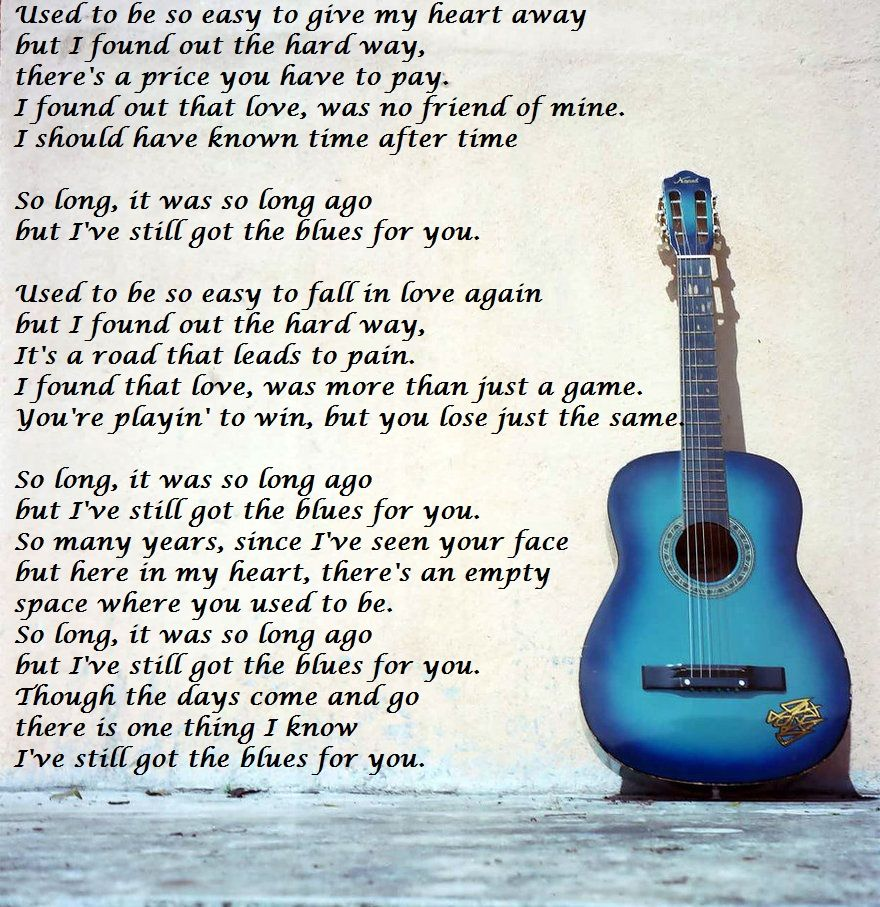 Gary Moore Still Got The Blues 3 3 Classic And Timeless Music Quotes The Hard Way My Music