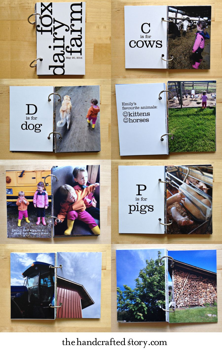 How to make the book for a scrapbook - How To Make A Kids School Field Trip Mini Book Minibook Scrapbook