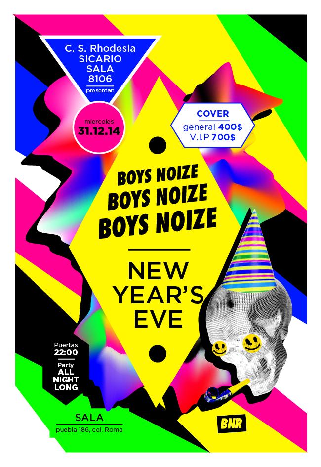 Boys Noize cierra el año en Rhodesia