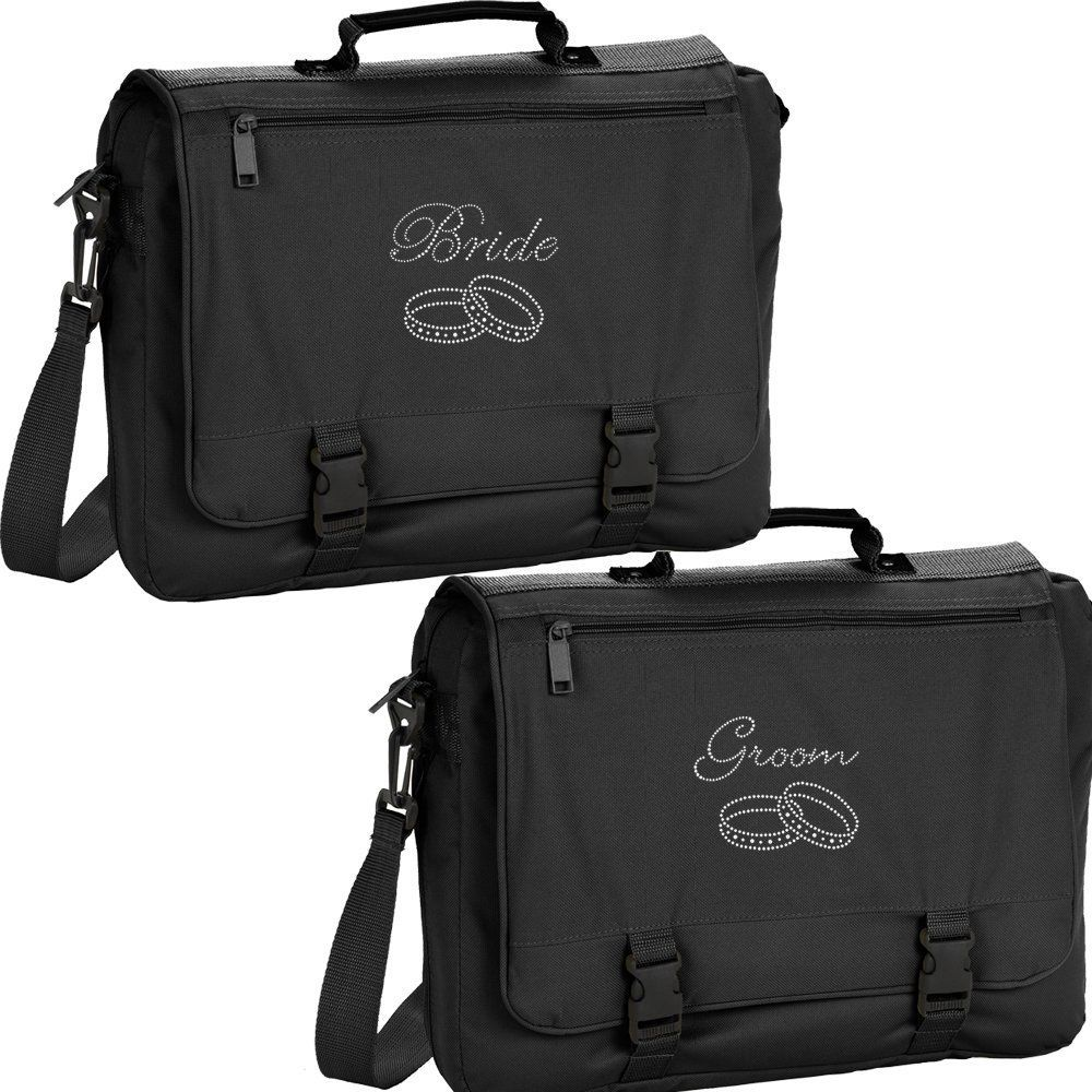 Set Of Marriage Bride Groom Mr Mrs Gift Travel Carry On