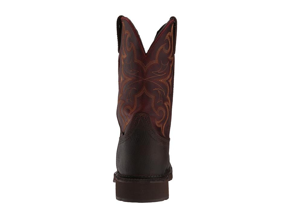 53aa64ea564 Justin Amarillo Waterproof Steel Toe Men's Waterproof Boots Brown ...