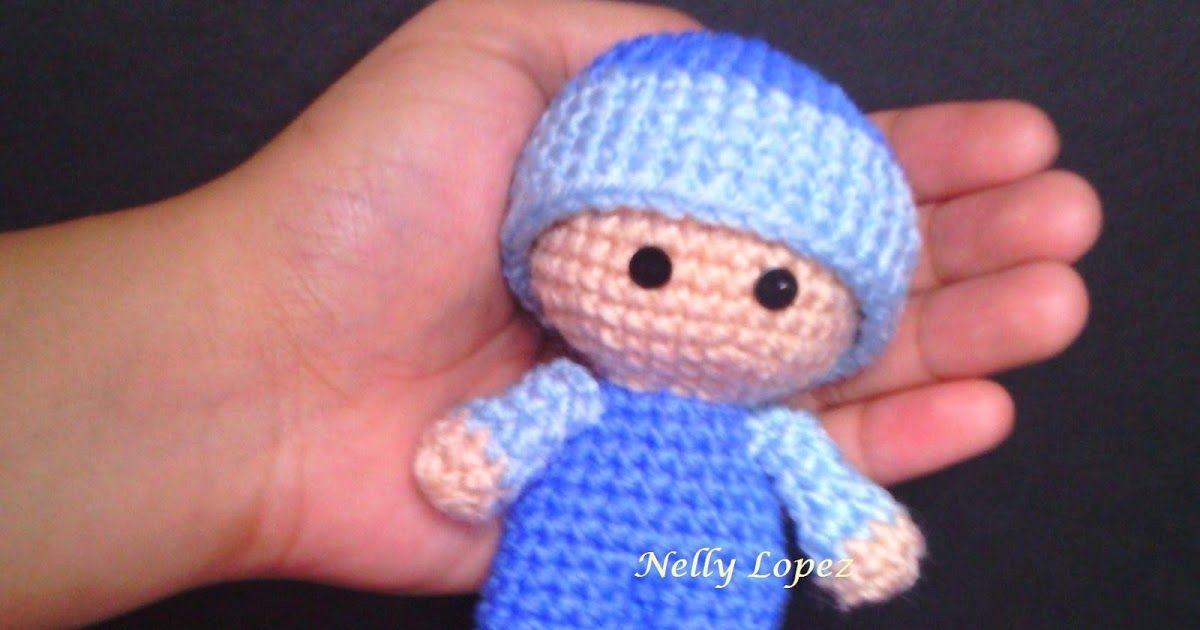 Mini big head baby doll crochet | Aa | Pinterest | Juguetes ...