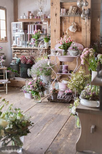 G Wie Chez Fleur Mein Lieblingsblumenladen Blumenladen Dekor Vintage Gartendekoration Shabby Chic Garten