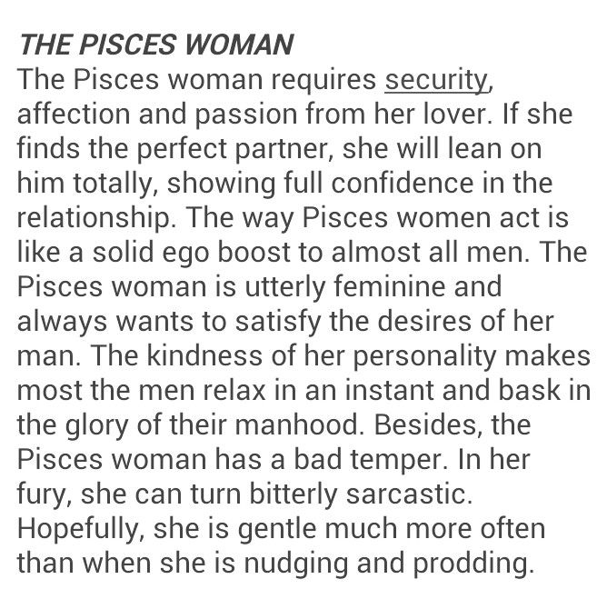 What To Know About Pisces Woman