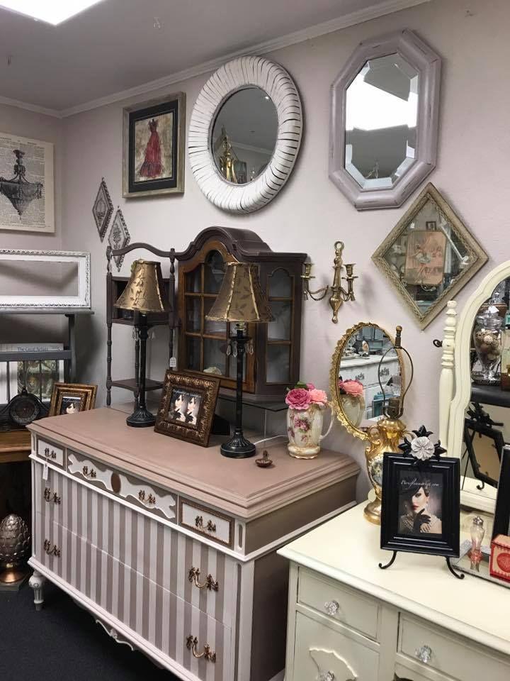 Superbe My Booth July 2017 At The Paris Flea Market In Livermore, CA.  #parisfleamarket #antique #vanity #dresser #furniture