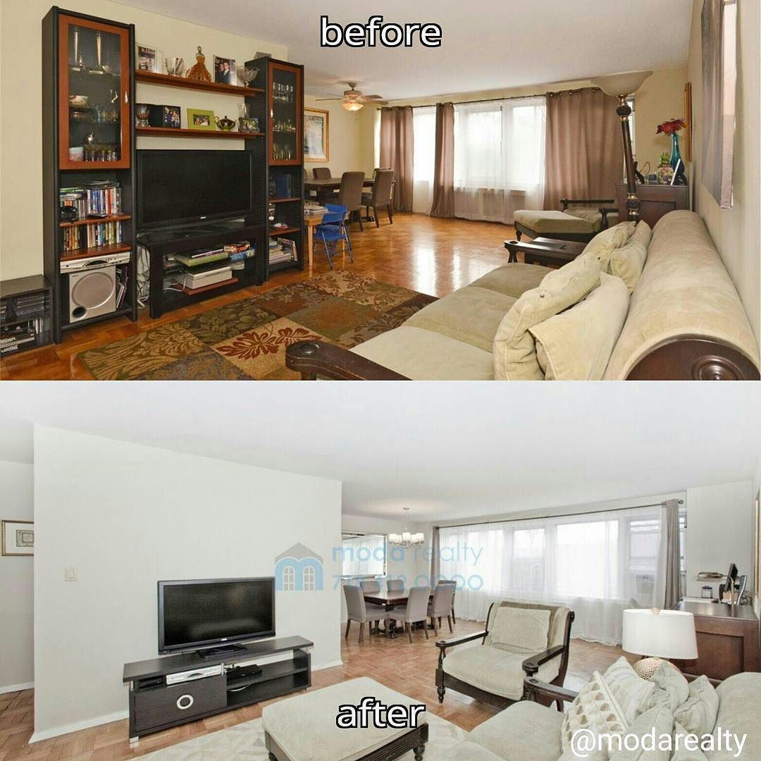 Home Staging Gallery: The Before And After Photos Of One Of Our Home Staging