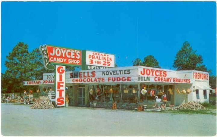 Joyce S Souvenir And Gifts Bay St Louis Ms These Shops Used To Be Located Along Hwy