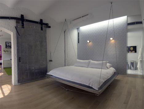 Hanging Floating Loft Bed Design Bed Design Lounge Furniture