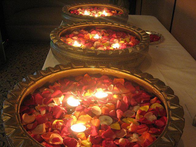 Floating Candles by niyam bhushan,