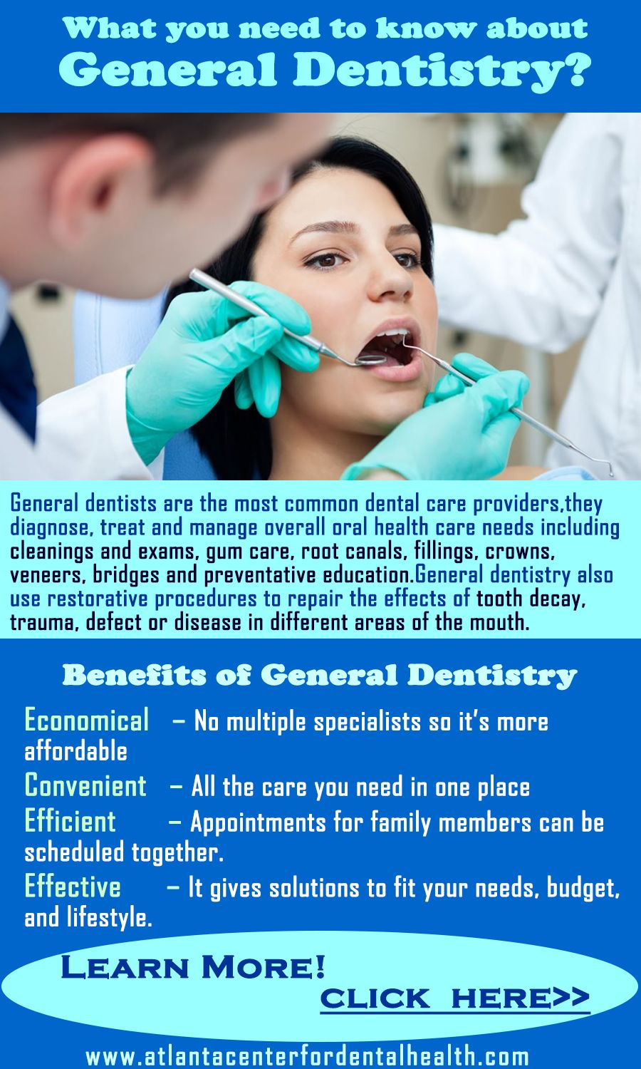 General Dentistry Alpharetta - Dr. Hepler and his experienced team