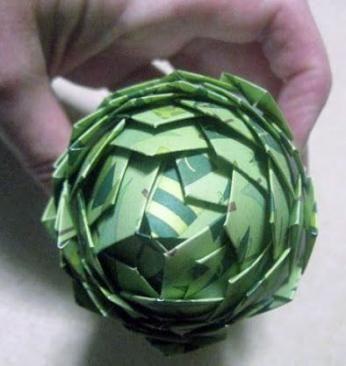 Super origami ornaments pine cones 65+ ideas #origami ...