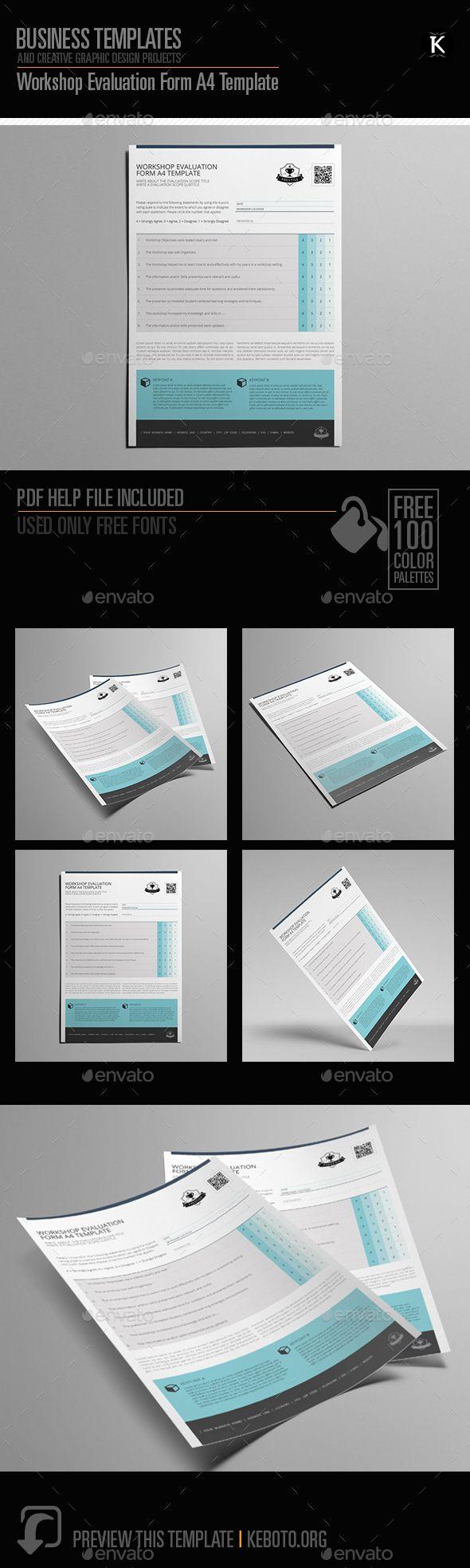 Workshop Evaluation Form A Template  Miscellaneous Print