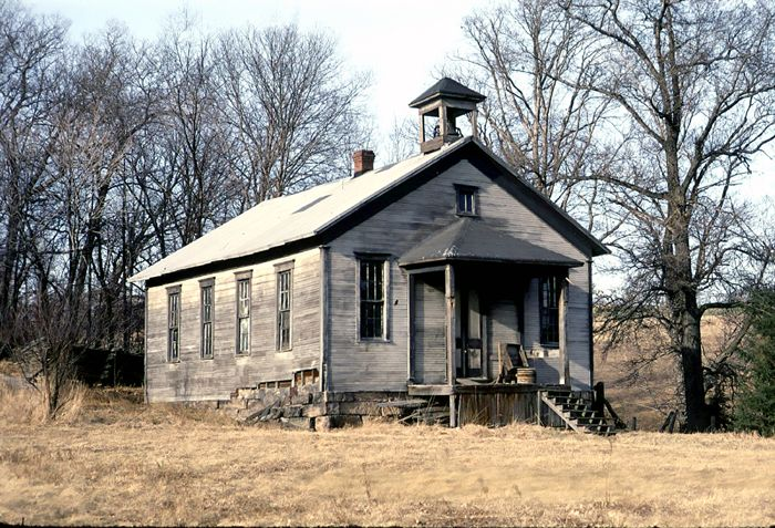 Indiana Schoolhouse | Abandoned-Seems like such a waste ... Old One Room School Building