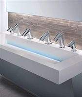 Sloan Integrated Sink Systems Combine A Soap Dispenser Faucet