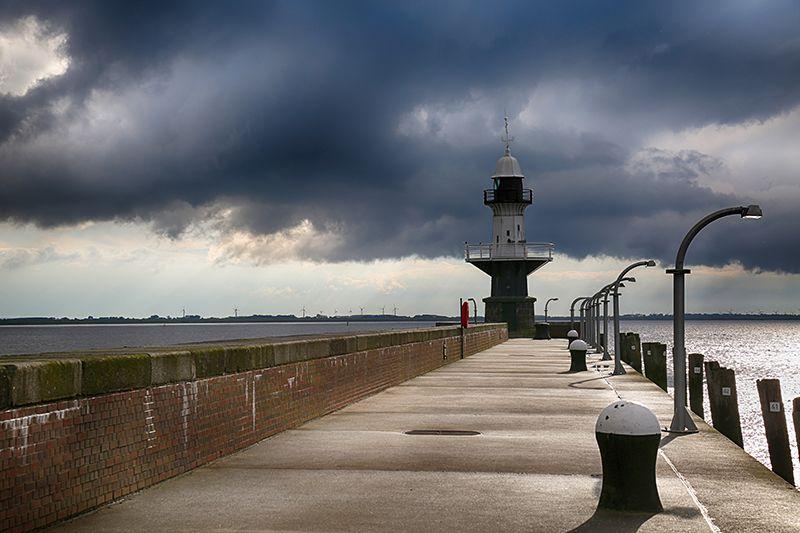 Lighthouses of the World | Brunsbüttel Mole 1