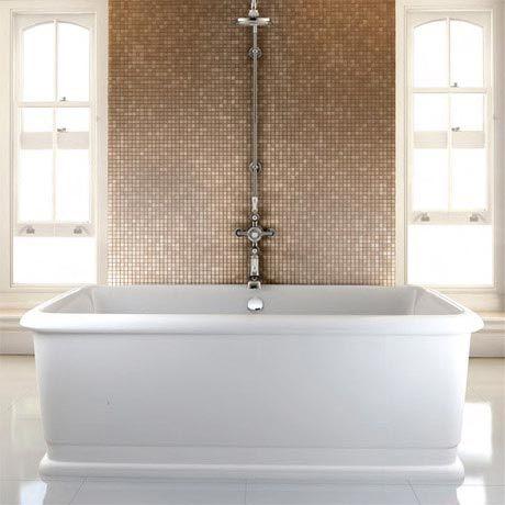 burlington london 1800mm rectangle soaking tub - e19 | bath tub