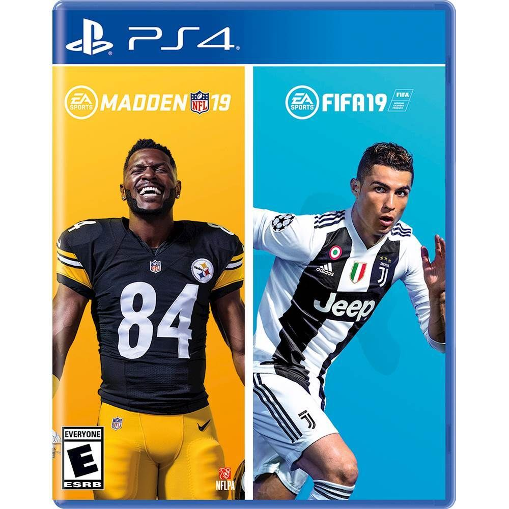 Just Added To Playstation 4 On Best Buy Madden Nfl 19 Fifa 19 Bundle Playstation 4