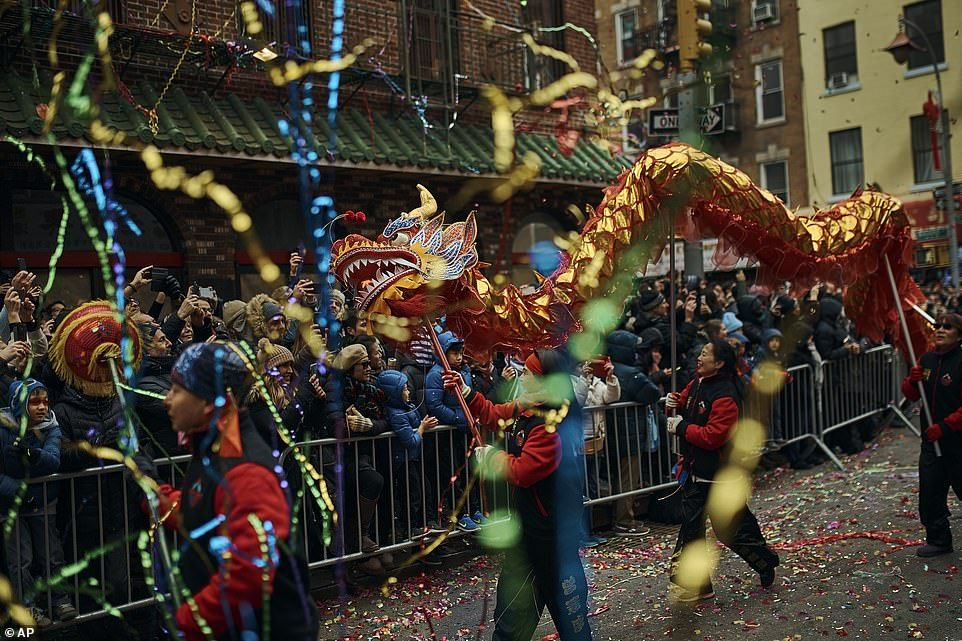 New York celebrates Chinese Lunar New Year of the Pig with