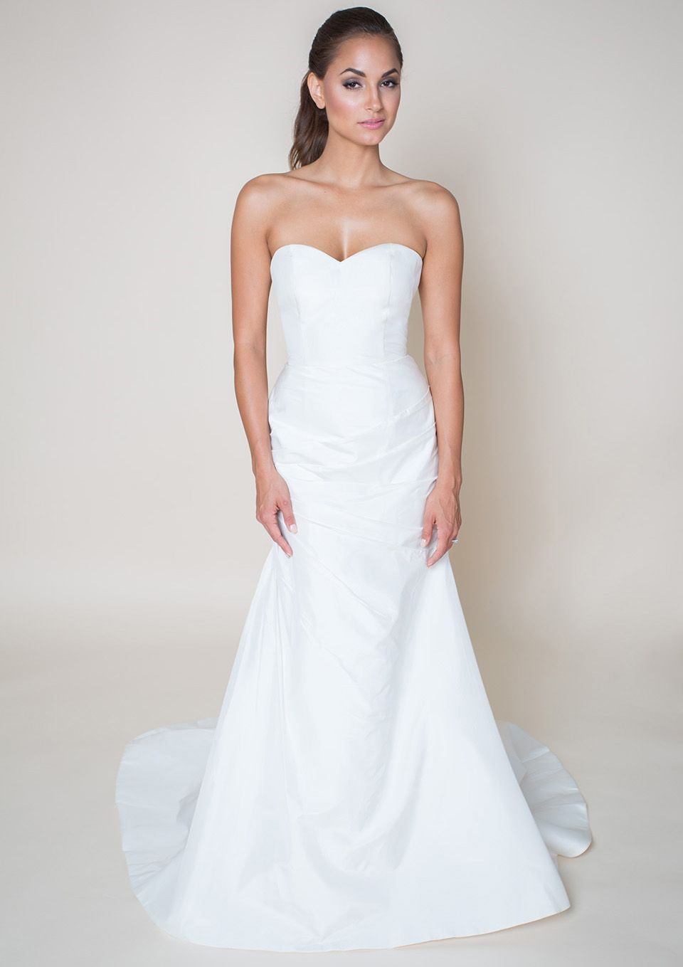 Cora Lee Feminine And Sophisticated This Fit To Flare Wedding