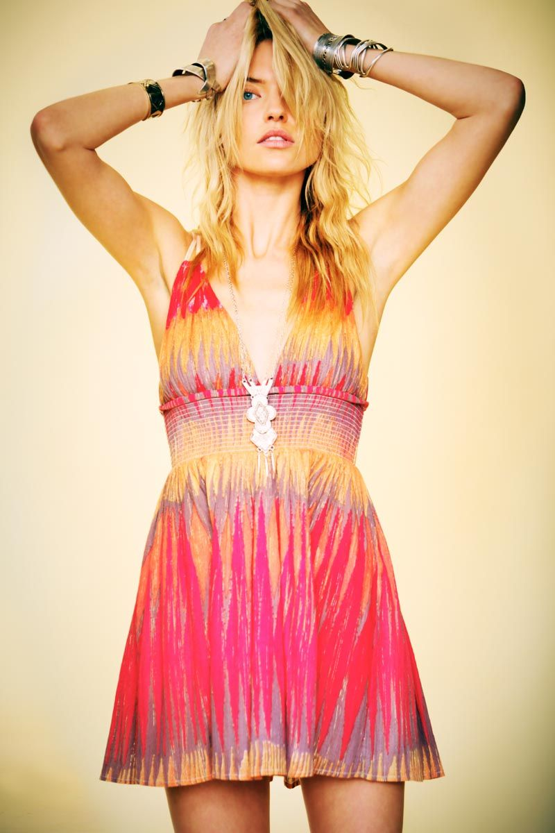 Martha Hunt for Free People Here Comes the Sun Lookbook by Anthony Nocella
