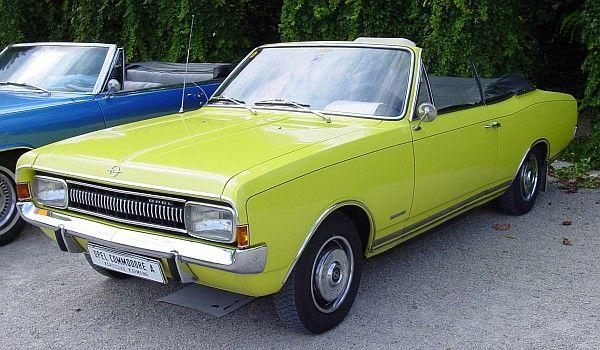 Opel Commodore A Karmann Cabriolet, 1967
