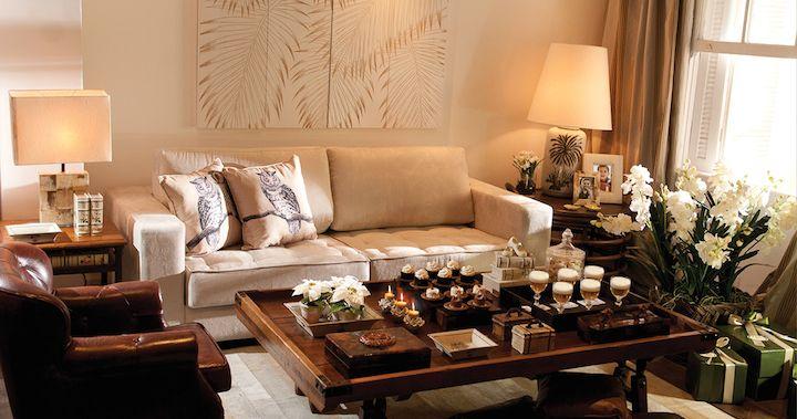 Como decorar a mesa de centro ambientes lindos for Como decorar una mesa