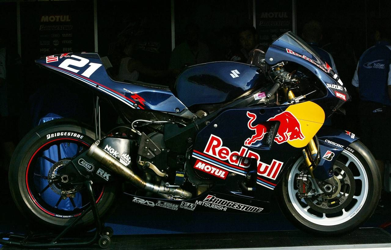 A great looking GSX R Unusual Ive personally always loved the
