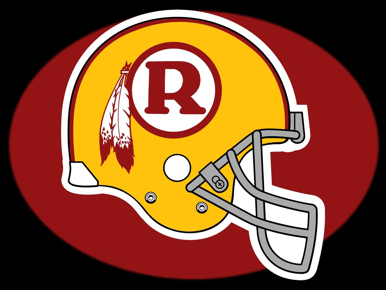 Redskins helmet between 1970 1971. Washington redskins