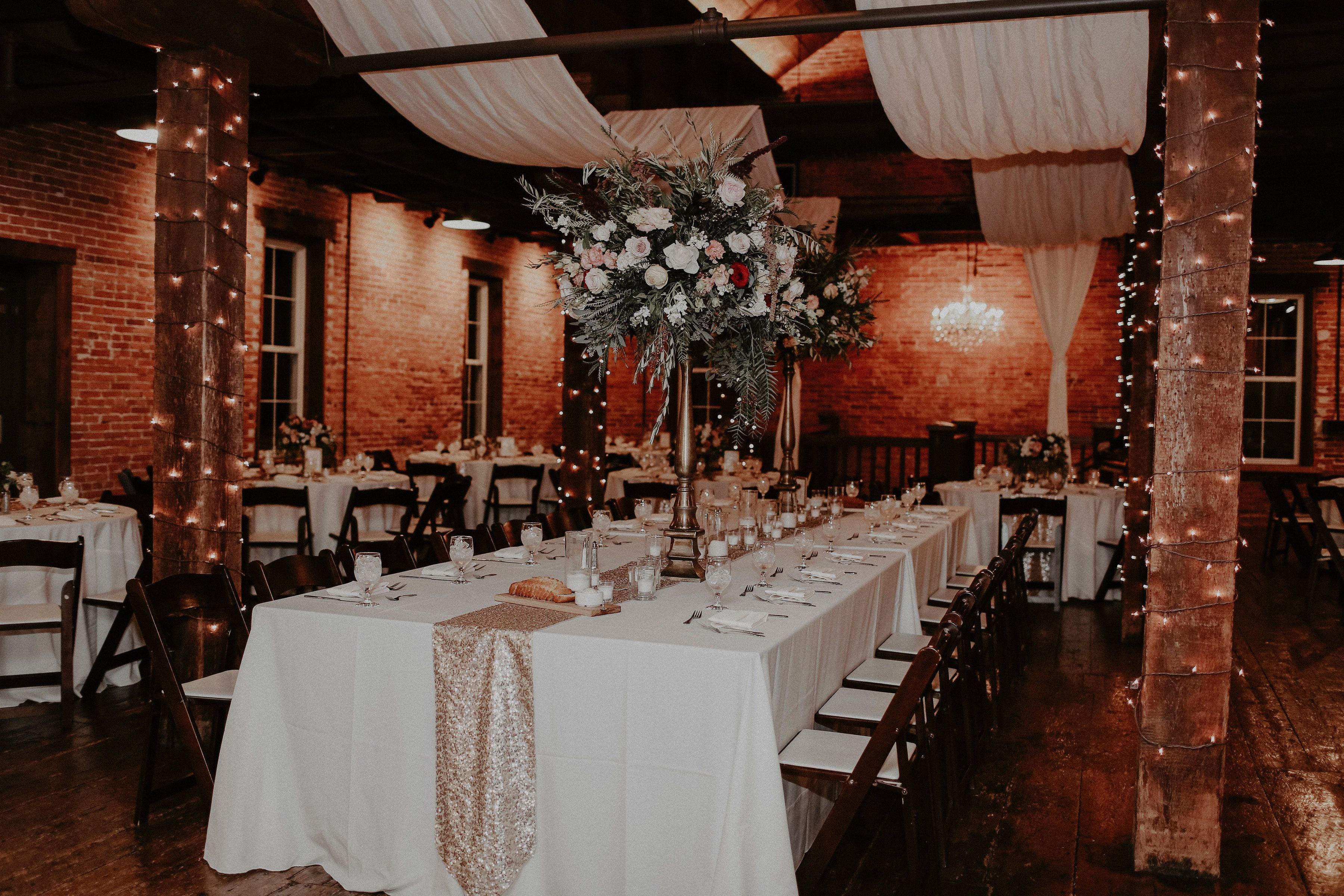 The Booking House Sparrow Lace Wedding Reception Ceremony