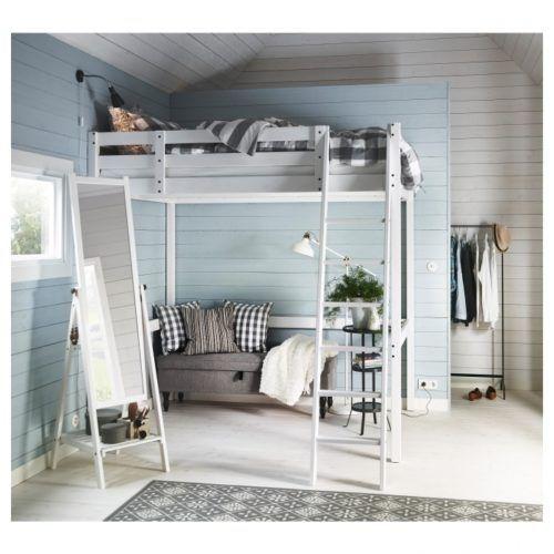 Stora Loft Bed Frame Black Ikea In Stora Loft Bed Frame Black